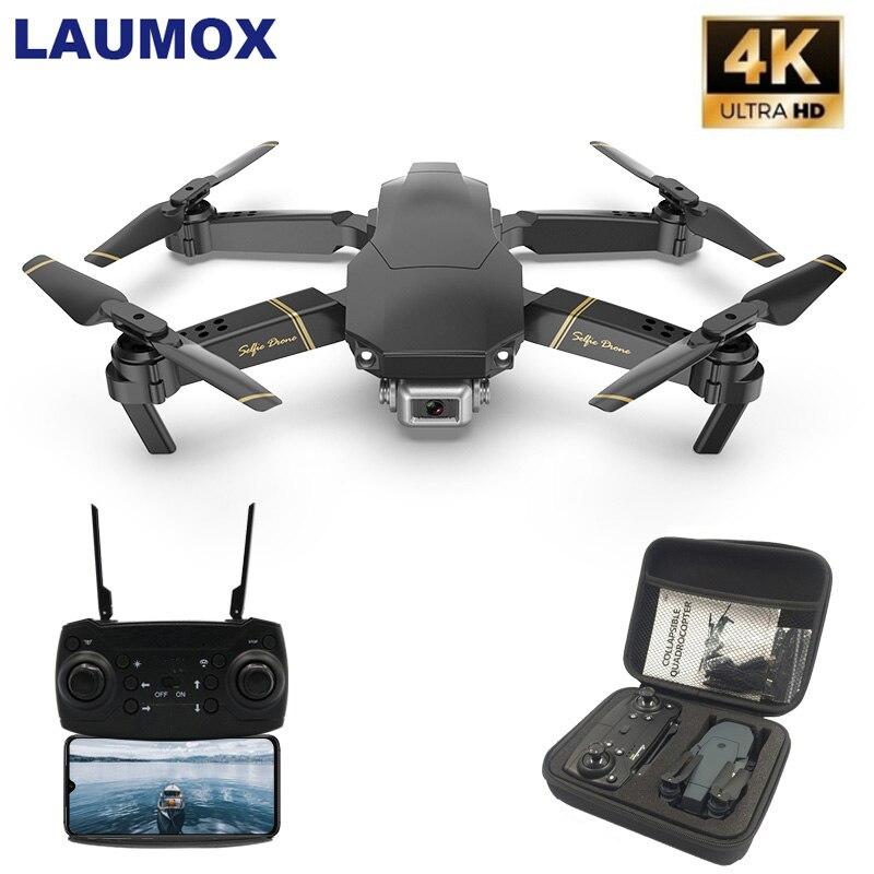 LAUMOX M65 RC Drone com Câmera HD FPV 4K WIFI Função Hold Altitude Selife Folding Quadcopter Drone Vs E58 SG106 SG906 Zangão