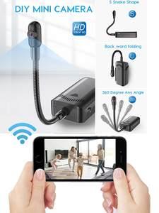 JOZUZE DV Camera Video-Recorder Remote-Monitoring Mini Cam Wifi Motion-Detection Wireless