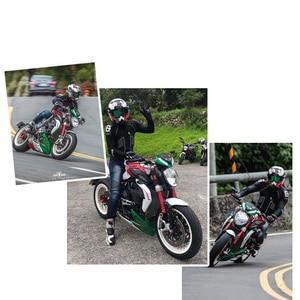 Image 3 - WOSAWE Motorcycle Jacket Motocross Protective Gear Armor Men Racing Motorcycle Clothing Windproof Reflective Motorbike Jackets