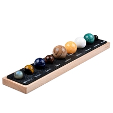 Solar System 8 Planets Stones Astronomy Learning Study Science Kit Home Office Decor 2017 diy the solar system nine planets planetarium model kit science astronomy project early education for children