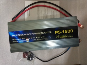 1500W Pure Sine Wave Solar Inverter Power Inverter DC12/24/48/60/72V DC to AC230V with ac charger UPS function
