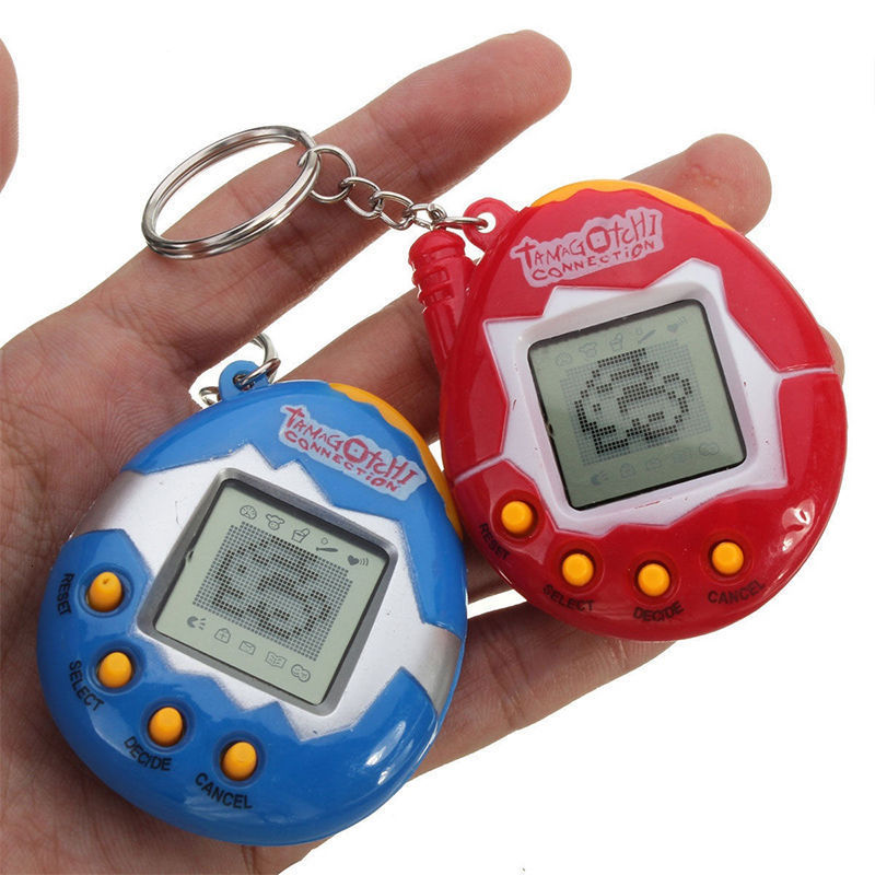 Tamagotchis Electronic Pets Toys High Quality 90S Nostalgic 49 Pets Keychain In One Virtual Cyber Funny Pet Kids Gift Toys