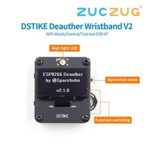 Image 2 - DSTIKE Deautherสายรัดข้อมือWiFiโจมตี/ควบคุม/เครื่องมือทดสอบESP 07 1.3OLED 600mAhแบตเตอรี่RGB LEDไม่มีPB ESP8266 Development BOARD