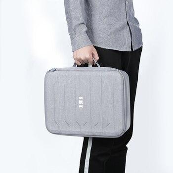 BUBM сумка для цифровой аксессуары, органайзер для путешествий, сумка для USB кабеля для передачи данных для телефона провода Power Bank чехол для х...