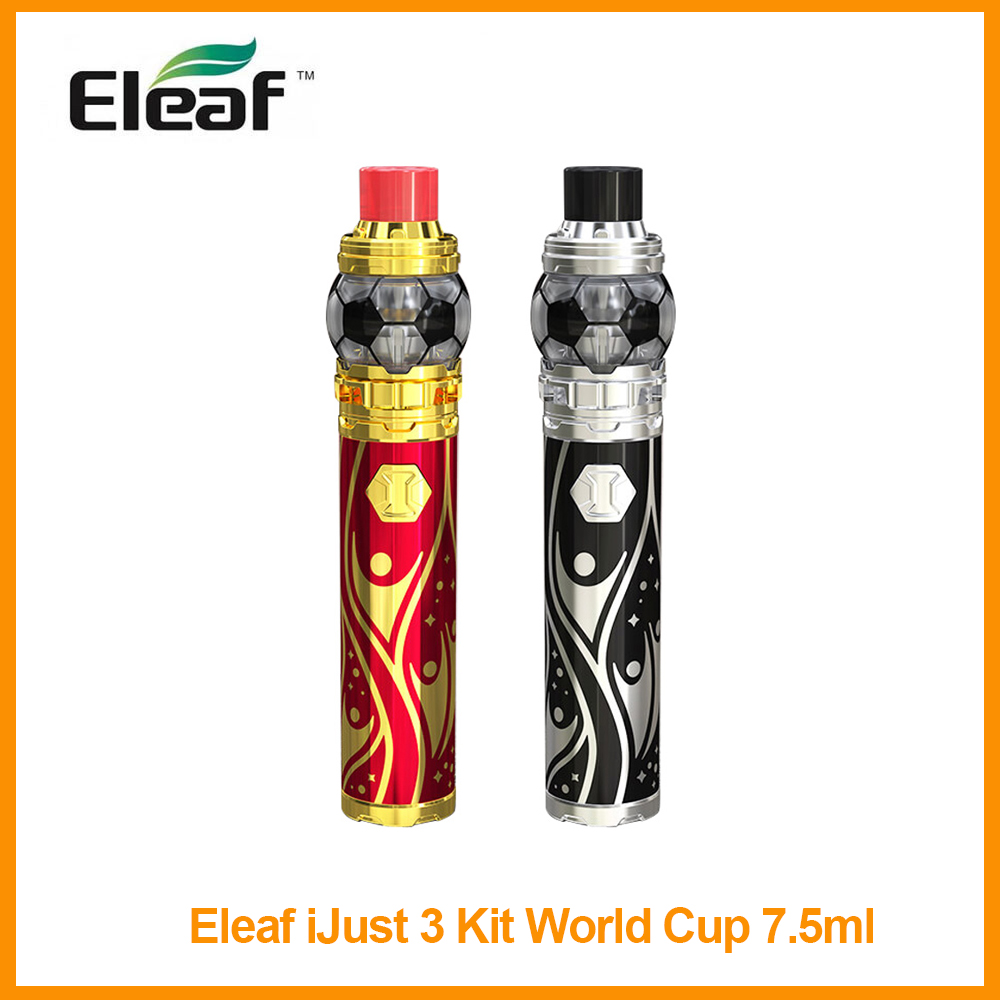Original <font><b>Eleaf</b></font> <font><b>iJust</b></font> 3 Kit World Cup 7.5ml Built in <font><b>3000mAh</b></font> Battery 80W Output HW-M/HW-N Coil VS <font><b>iJust</b></font> <font><b>S</b></font> Kit Elctronic Cigarette image