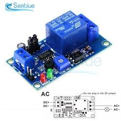 Módulo de relé de tiempo cc 12V, relé de retardo de tiempo Normal de apertura, temporizador, interruptor de Control de relé, potenciómetro ajustable, indicador LED