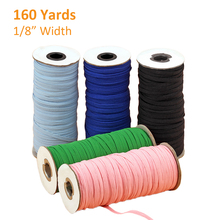 3/6mm Elastic Bands Rope Rubber Hair Band Ribbons Sewing Webbing Tapes Waist Shoes Belt DIY Garment Accessories 3 5meter meetee 50mm elastic band rubber band webbing pants waist binding tapes for skirt bags belt sewing clothing accessories