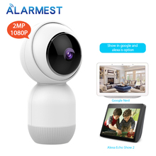 ALARMEST WiFi IP Camera 1080P Home Security WiFi Tuya Mini Camera Google/Alexa  Tuya Smart life Auto-tracking  Powered by Tuya