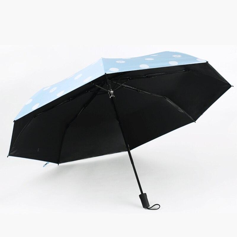 de ponto 3-guarda-chuva dobrável chuva uv guarda-chuva