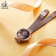 Shengke New Design Elegant 32 MM Dial Quartz