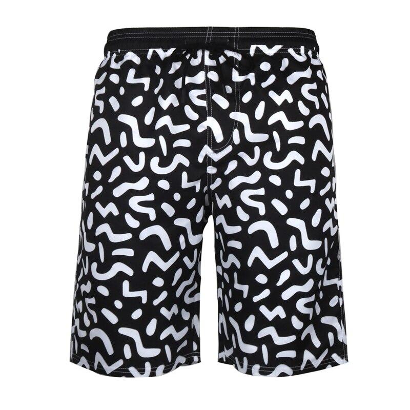Printed Mens Swimwear Plus Size Pocket Mens Beach Board Shorts Briefs For Men  Summer Swim Trunks Bikini Swim Shorts Beach Wear