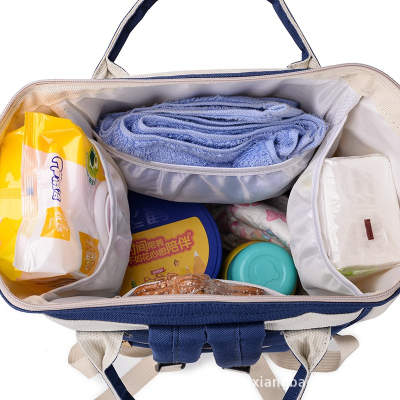 Large-Volume Diaper Bag Multi-Storage Space Insulation Layer Multi-functional MOTHER'S Bag Time Of Childbirth Bag Separate After