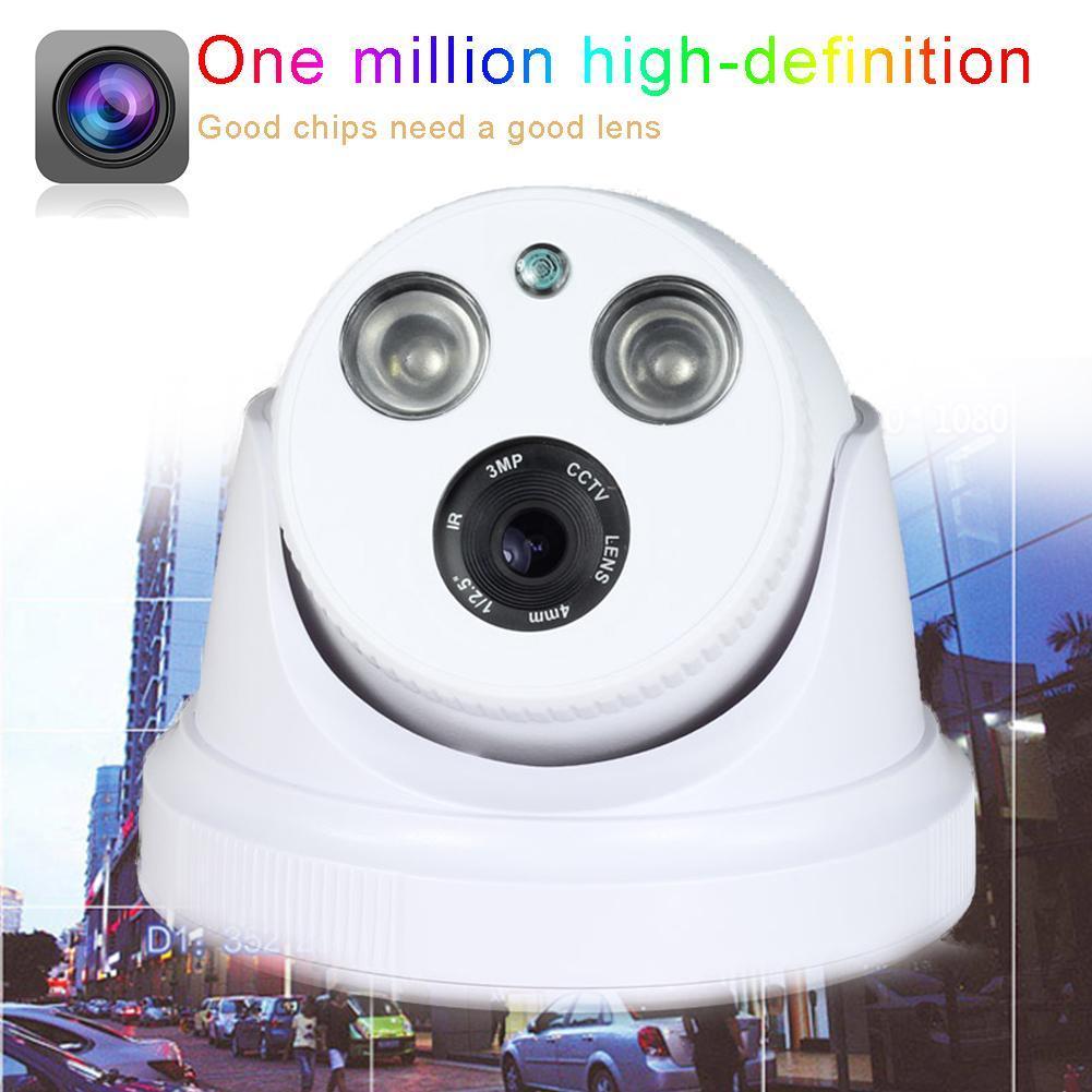 HD 1.0MP 720P AHD Surveillance IR Infrared Indoor Security Hemisphere Camera