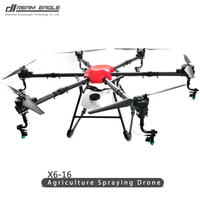 X6 16 Agricultural Plant Protection UAV 16kg Agriculture machinery Spraying drones