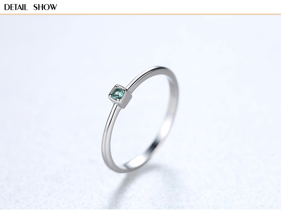 CZCITY Genuine 925 Sterling Silver VVS Green Topaz Wedding Rings for Women Minimalist Thin Circle Gem Rings Jewelry Carving S925 Hb23dc492a7f4442d9b46ce422de017c5D ring