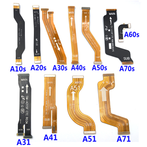 Main Board Motherboard Connector Flex Cable For Samsung A10 A20 A30 A40 A50 A10S A20S A30S A40S A50S A60S A70S A31 A41 A51 A71