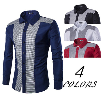 ZOGAA Men Shirts New Arrivals Slim Fit Male Shirt Solid Long Sleeve British Style Cotton Men's Shirt Turn-down Collar spring men long sleeve turn down collar single breasted shirts camisa solid color oxford pure cotton slim fit vestido shirts