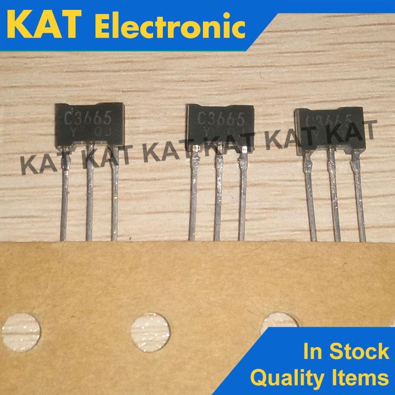 5PCS/Lot 2SC3665 C3665 2SC3665-Y TO-92 New Original Transistor Silicon NPN Epitaxial Typ