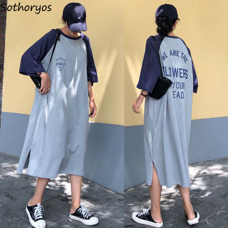 Nightgowns Women Half Sleeve Leisure Daily Printed Comfortbale Elegant Loose Plus Size 3XL Korean Style Womens Student Ulzzang