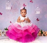 Baby Girls 1st Birthday Party Dresses Kids Princess Christmas Dress Children Girls Clothing Baby Girls 12M 24M