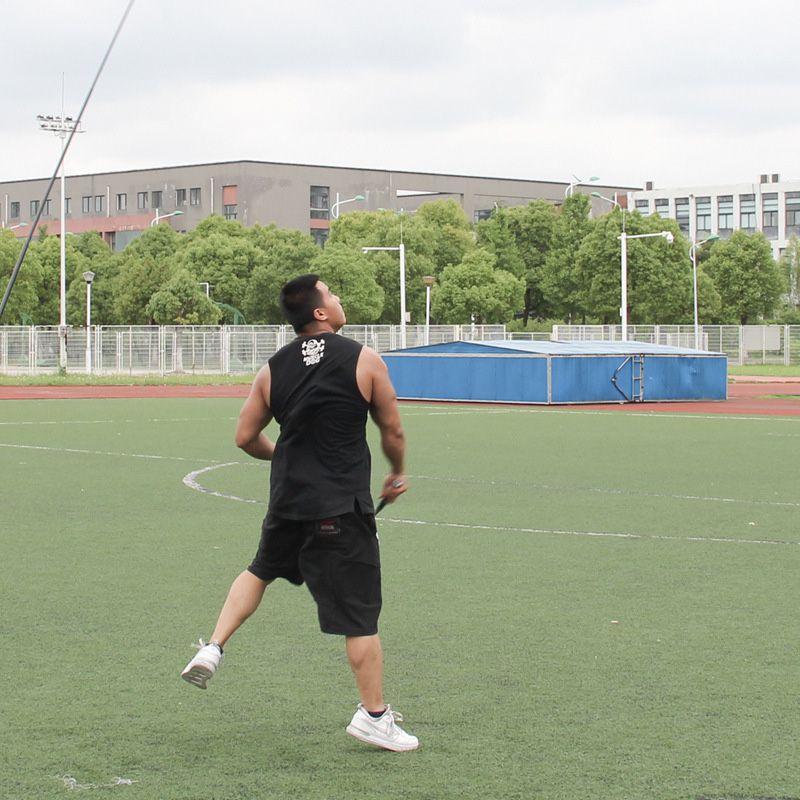 Badminton Trainer Portable Elastic Adjustable Self-Study Rebound Power Base Practice Training Device