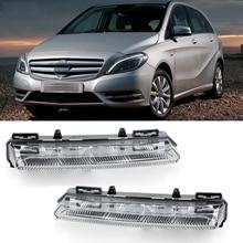 Car LED DRL Daytime Running Light Fog Lamp for Mercedes-Benz a B CLASS W176 W246 W242 B180 B200 A2049069100 A2049069200
