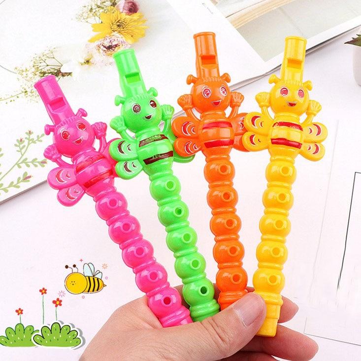 Dazzling Toys 24 Pcs Kids Mini Flute Instrument Whistles Party Bag Filler Favor