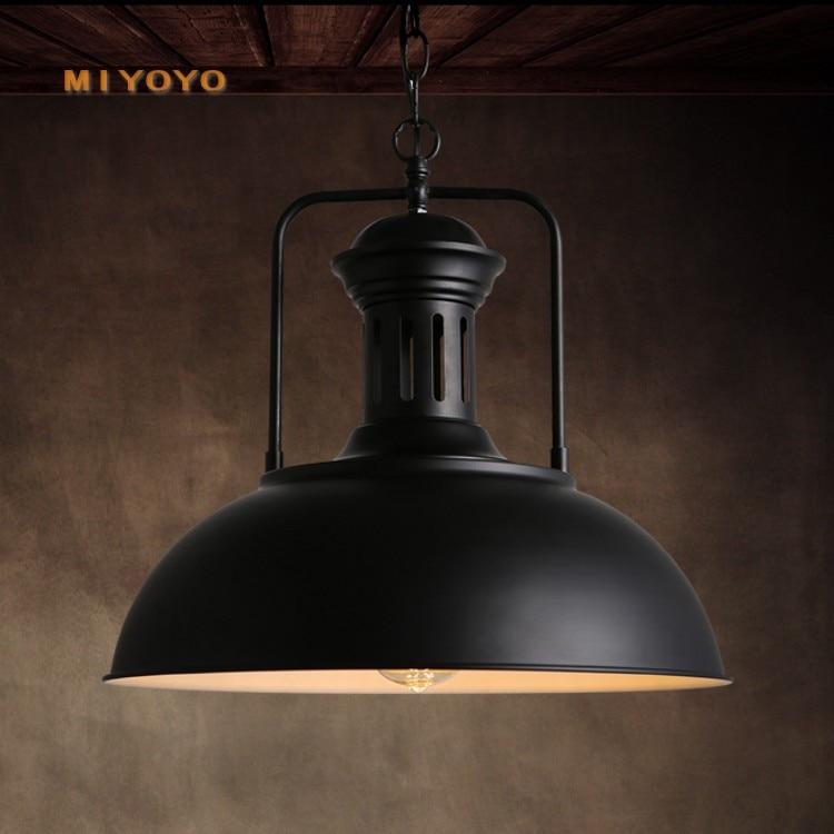 Modern  Hanging Ceiling Lamps Iron Home Decoration E27 Light Fixture  Restaurant   Industrial Lamp  Pendant Lights