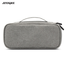 Mens Travel Digital Storage Bag Waterproof Oxford Cloth Multi-Function Cable Laptop Computer