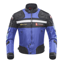 DUHAN Motorcycle winter Jackets warm protective Men's 600D Oxford Clothing motorbike Cruiser Touring Chopper Scooterski Jacket