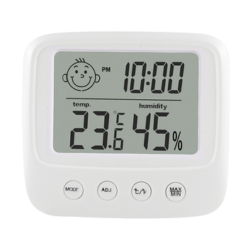 Digital LCD Indoor Convenient Temperature Sensor Humidity Meter Thermometer Hygrometer Gauge 2