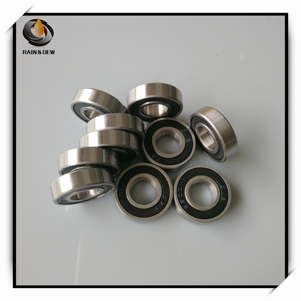 10pcs 6900-2RS 6900RS Deep Groove Rubber Shielded Ball Bearings 10mm*22mm*6mm
