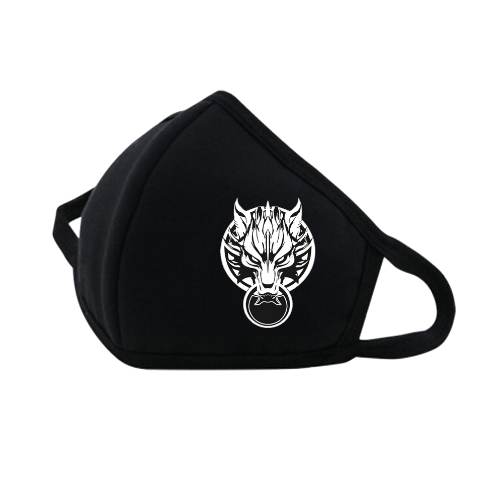 Game Anime Final Fantasy Mouth Face Mask Dustproof Breathable Facial Protective Cute Unisex Cartoon Mouth Cover Masks