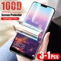 3 1 pièces Film protecteur 100D Hydrogel pour Huawei P10 Lite P20 P30 Pro protecteur d'écran pour Huawei Mate 10 20 Pro Film pas de verre|Protections d'écran de téléphone| |  -