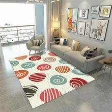 22 геометрические бесконечные декоративные коврики скандинавские ковры для гостиной серый блокбастер офисный ковер Нижняя клей точка Нескользящая