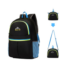 Outdoor Super Lightweight Fold Summer Stack Backpack New Products