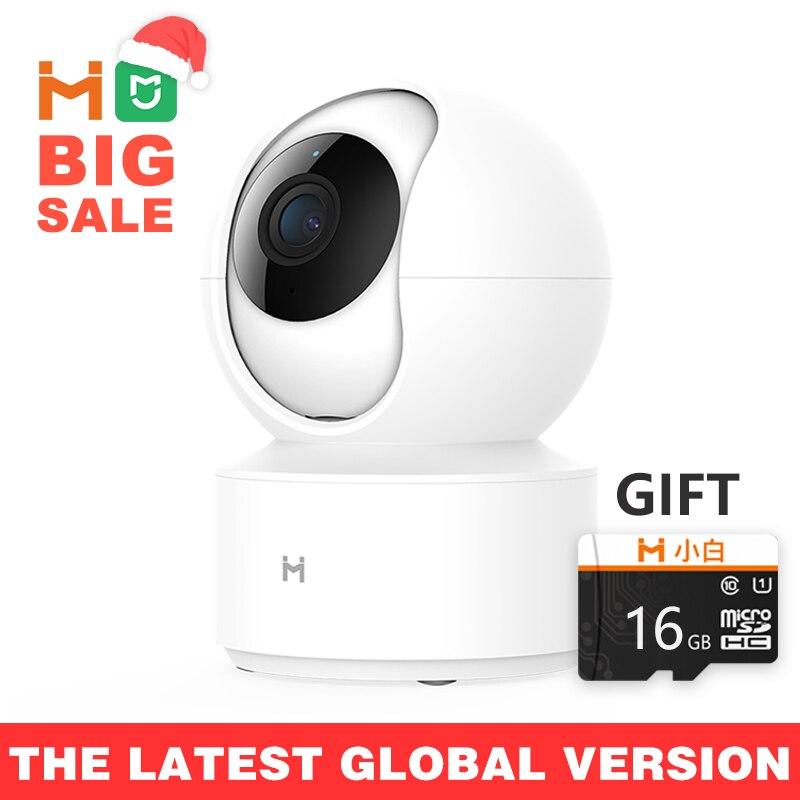 【Global Version】Mijia IMILAB IP Camera, Xiaomi Mi Home App WiFi Security Camera CCTV HD 1080P Surveillance Baby Monitor H.265