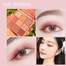 9 Colors Red Velvet Honey Eyeshadow Palette Pearlescent Matt