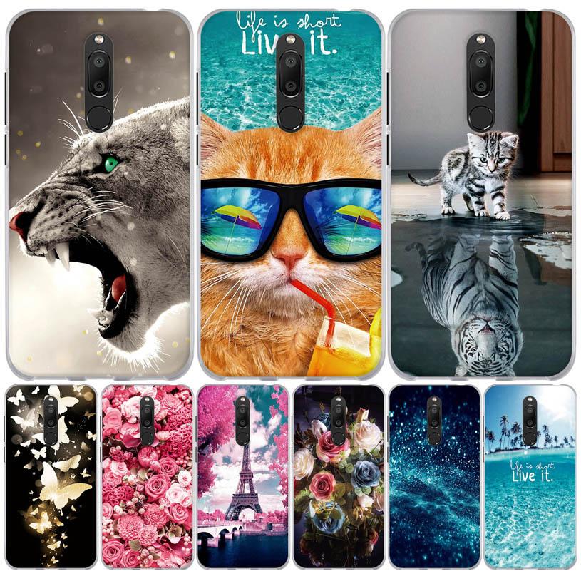 M6T 5.7'' Cover For Meizu M6T Case Silicone Soft TPU Cover For Fundas Meizu M6T Case Cover for Meizu M6T M6 T M811H Phone Coque