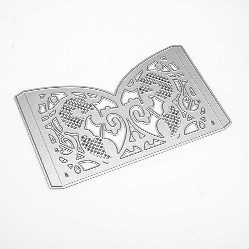 レースのグリッド結婚式金属切削ダイス new 2020 クラフトダイスカット結婚式の招待スクラップブッキング diy ホーム装飾
