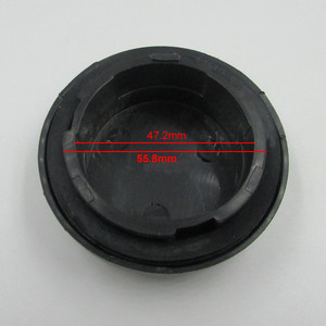 Image 2 - Для lifan 520 05 10 фар Задняя Крышка герметичная пластиковая крышка Водонепроницаемая Пылезащитная крышка пластиковая крышка Крышка для фар