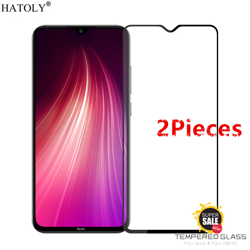 2Pcs For Xiaomi Redmi Note 8 Glass Tempered Glass For Redmi Note 8 HD Screen Protector Protective Glass For Xiaomi Redmi Note 8