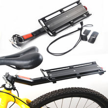 Bicycle Rack Bicycle Luggage Carrier Bike Cargo Rear Rack Shelf Quick Release Flat Rack Road Mtb Bike Aluminum Alloy Rear Rack