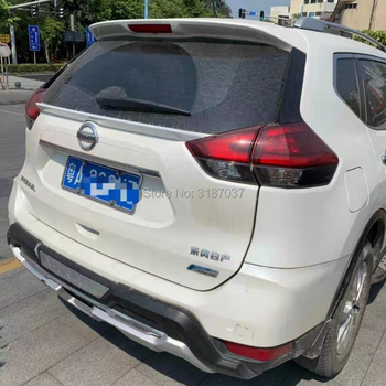 For Nissan X-Trail Rogue T32 2014 -2017 ABS Plastic Unpainted Color Rear  Spoiler Wing Trunk Lip Boot Cover Car Styling