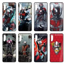 hero ant-man Hard silicone 3D shell coque black Phone case cover hull For Xiaomi Redmi Note S2 4 5 6 7 8 K20 A S X Plus Pro(China)