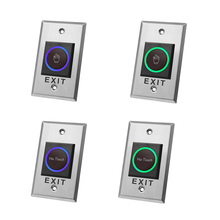 Infrared-Door-Exit-Button Access-Control-System No-Touch Contactless Metal for Long-Type
