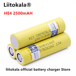 Image 4 - Liitokala for LG HE4 18650 rechargeable Li ion battery is 3.6 V 2500 MAH battery can maintain, Max 20a, 35A and cigarette unload
