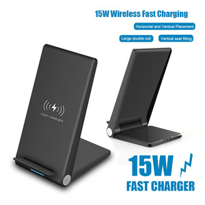 Image 5 - FDGAO 15W Qi Quick Wireless Charger Stand For iPhone 11 Pro X XS Max XR 8 Samsung S10 S9 Note 9 10 Wireless Charge Dock Station