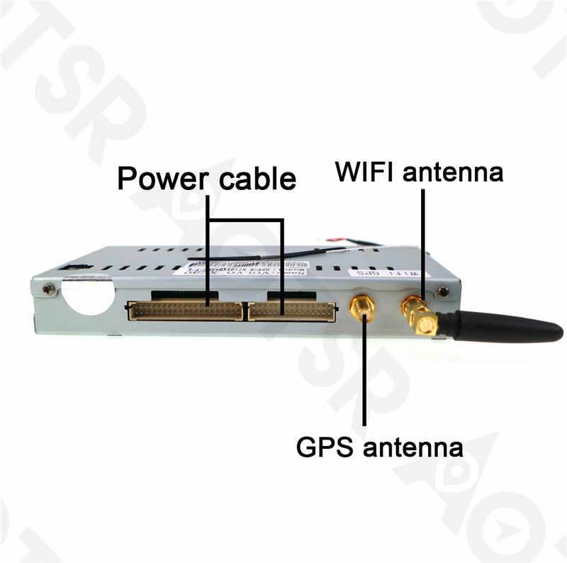アンドロイド 7.1 2 ギガバイトラジオ Gps ナビゲーションヘッドユニットマルチメディアボルボ XC90 2007 2008 2009 2010 2011 2012 2013