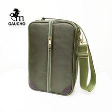 1 pc/lote gaucho yerba companheiro sacos de viagem é conveniente para carregar herba chá & térmica & gourds & bombilla palha & escova venda quente